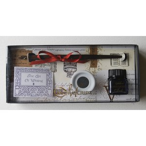 Kalligrafiset Manuscript - Pen & Ink Well Set