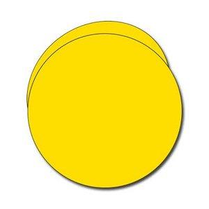 Pollen Runt dubbelkort ø 135 - 25-pack - Intensiv gul