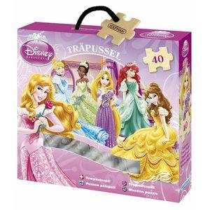 Träpussel Disney Prinsessor 2