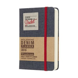 Dagskalender Denim Pocket 2019 - Svart