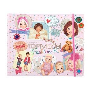 Målarbok TOPModel - Kids Fashion