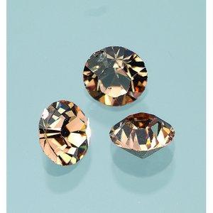 Billigtpyssel.se | Ädelstenar Swarovski ø 3-5 mm - ljus colorado topas