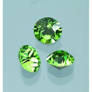 Billigtpyssel.se | Ädelstenar Swarovski ø 3-5 mm - peridot