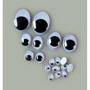 Billigtpyssel.se | Ögon rörlig pupill - ovala