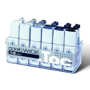 Copic Wide set C (med refill)