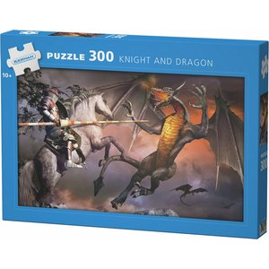 Pappussel Knight And Dragon