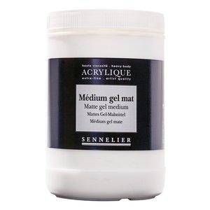 Akrylmedium Sennelier 120Ml - Abstract Gloss Gel