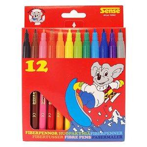 Fiberpennor Sense - 12 pennor