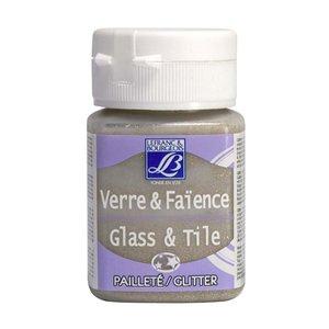 Glas- & keramikfärg L&B 50 ml - Glitter