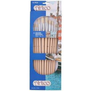 Penselset Runda - 12 penslar
