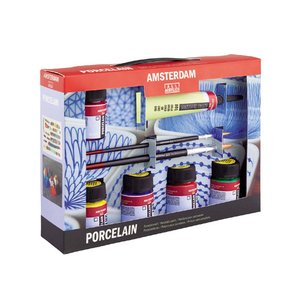 Deco Portslinfärg Amsterdam 16 ml - Målarset