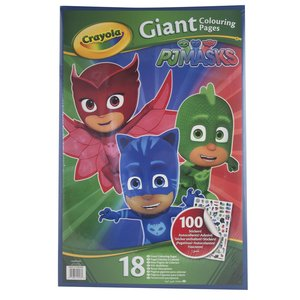Gigantiska färgläggningsbilder - PJ Masks