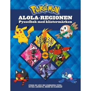 Pysselbok Pokemon: Alola-regionen
