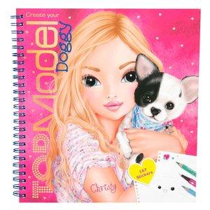 Målarbok TOPModel - Doggy