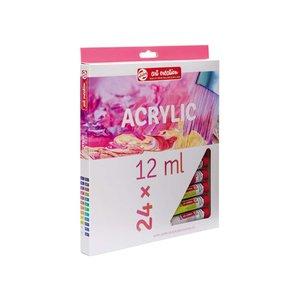 Akrylfärger Art Creation Färgset 12 ml - 24 färger