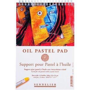 Oljepastellblock Sennelier 340 g - 16 x 24 cm