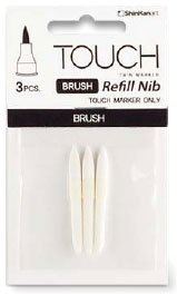 Touch Brush Marker Spets 3st - Brush