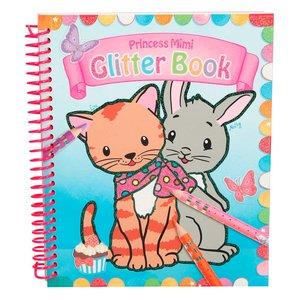 Målarbok Princess Mimi - Glitter