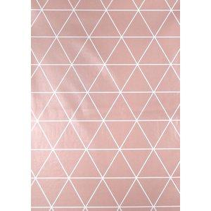 Vaxduk trianglar - Rosa