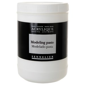Akrylmedium Sennelier - Modeling Paste