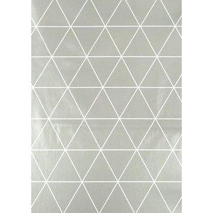Vaxduk trianglar - Grå