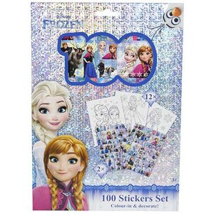 Frozen Stickers Sense - 100 st
