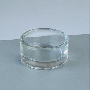 Värmeljushållare glas I ø 44 x H 18 mm - klar