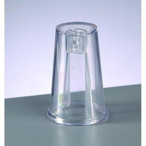 Billigtpyssel.se | Adapter för plastbollar - kristallklar (SBS)