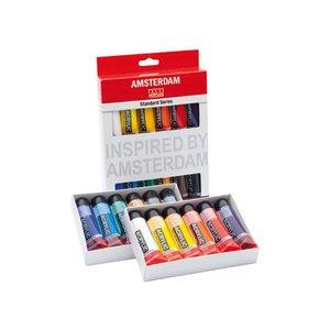 Billigtpyssel.se | Akrylfärgsset Amsterdam 20 ml - 12 tuber