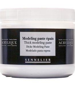 Billigtpyssel.se | Akrylmedium Sennelier 500 Ml - Thick Modeling Paste