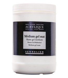 Billigtpyssel.se | Akrylmedium Sennelier - Abstract Binding Medium