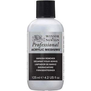 Billigtpyssel.se | Akrylmedium W&N Professional - Lackbortagning - 125 ml