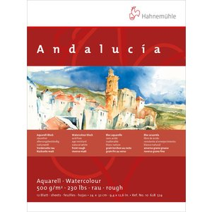 Billigtpyssel.se | Akvarellblock Andalucía 500g rough/matt - 24x32cm