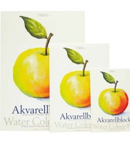 Billigtpyssel.se   Akvarellblock Dekorima Äpple - 180g