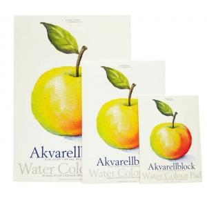 Billigtpyssel.se | Akvarellblock Dekorima Äpple - 180g