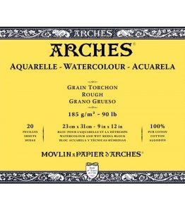 Billigtpyssel.se   Akvarellblock Grov gräng Arches 185g