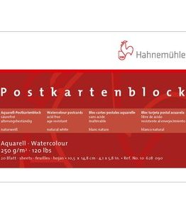 Billigtpyssel.se | Akvarellblock Hahnemühle Vykort 250g Grov - 10