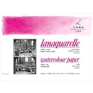Billigtpyssel.se | Akvarellblock Lana Lanaquarelle 300 G Grov Gräng
