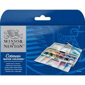 Billigtpyssel.se | Akvarellfärg W&N Cotman Pocketbox