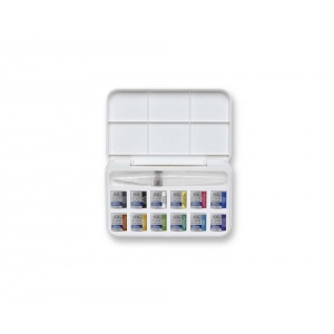 Billigtpyssel.se | Akvarellfärg W&N Cotman Water Brush Pen set 12