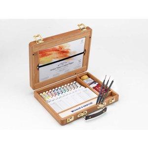 Billigtpyssel.se | Akvarellfärg W&N Professional Bambulåda tuber 12 st