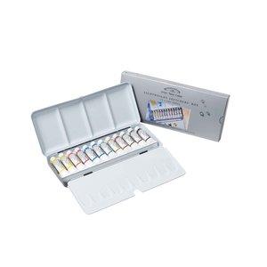 Billigtpyssel.se | Akvarellfärg W&N Professional Emaljerad låda tuber