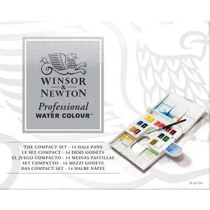 Billigtpyssel.se   Akvarellfärg W&N Professional Kompakt plastlåda