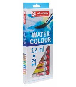 Billigtpyssel.se | Akvarellfärger Art Creation 12 ml - 12 färger