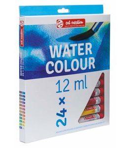 Billigtpyssel.se | Akvarellfärger Art Creation 12 ml - 24 färger