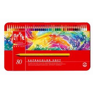 Billigtpyssel.se | Akvarellpenna Caran d´Ache Supracolor - 80 pennor