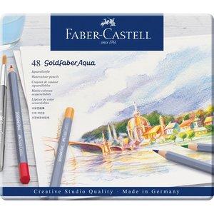 Billigtpyssel.se | Akvarellpennset Goldfaber Aqua - 48 Pennor