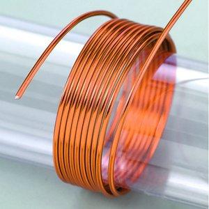 Billigtpyssel.se | Aluminiumtråd ø 2 mm - orange 5 m / ~ 42 g
