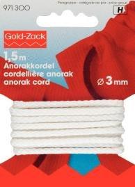 Billigtpyssel.se | Anorakband 3 mm - Finns i fler färger