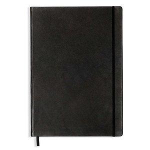 Billigtpyssel.se   Anteckningsbok A4+ Hard Leather - Prickad